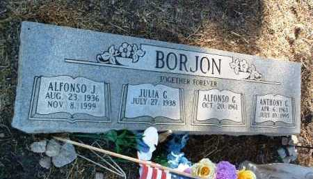BORJON, ALFONSO JUAREZ - Yavapai County, Arizona | ALFONSO JUAREZ BORJON - Arizona Gravestone Photos