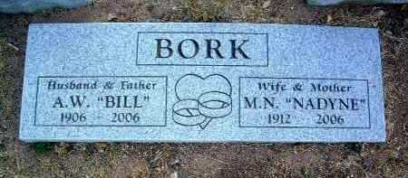 BORK, ALBERT WILLIAM, JR. - Yavapai County, Arizona | ALBERT WILLIAM, JR. BORK - Arizona Gravestone Photos