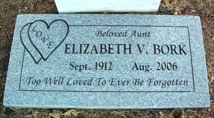 BORK, ELIZABETH VIOLET - Yavapai County, Arizona   ELIZABETH VIOLET BORK - Arizona Gravestone Photos