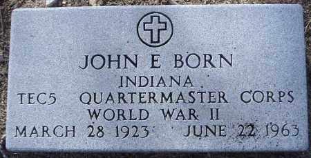 BORN, JOHN EDWARD - Yavapai County, Arizona | JOHN EDWARD BORN - Arizona Gravestone Photos