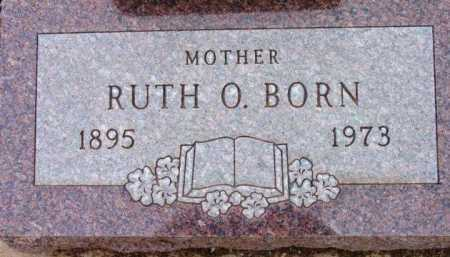 BORN, RUTH ORPHA - Yavapai County, Arizona | RUTH ORPHA BORN - Arizona Gravestone Photos