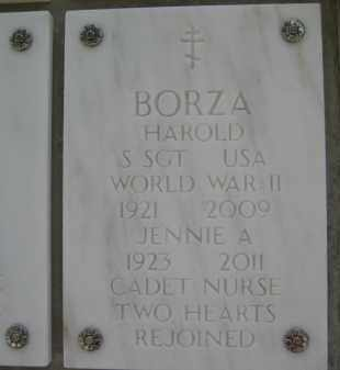 BORZA, HAROLD - Yavapai County, Arizona | HAROLD BORZA - Arizona Gravestone Photos