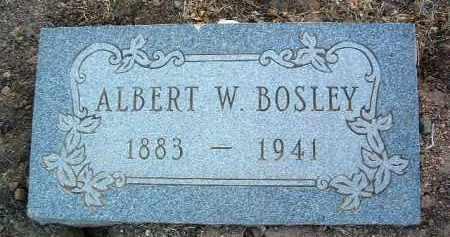 BOSLEY, ALBERT W. - Yavapai County, Arizona | ALBERT W. BOSLEY - Arizona Gravestone Photos