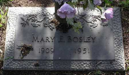 BOSLEY, MARY ELVA - Yavapai County, Arizona | MARY ELVA BOSLEY - Arizona Gravestone Photos