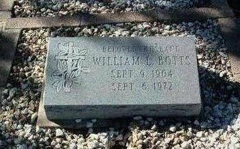 BOTTS, WILLIAM L. - Yavapai County, Arizona | WILLIAM L. BOTTS - Arizona Gravestone Photos