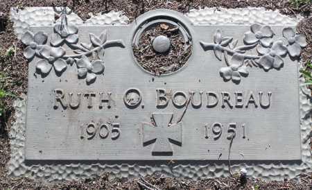 BOUDREAU, RUTH O. - Yavapai County, Arizona | RUTH O. BOUDREAU - Arizona Gravestone Photos