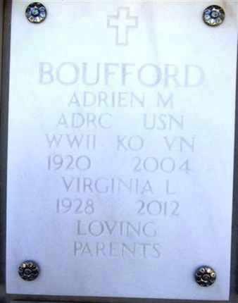 BOUFFORD, ADRIEN M. - Yavapai County, Arizona | ADRIEN M. BOUFFORD - Arizona Gravestone Photos