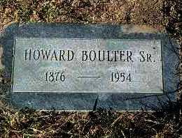 BOULTER, HOWARD, SR. - Yavapai County, Arizona   HOWARD, SR. BOULTER - Arizona Gravestone Photos
