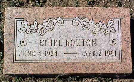 BOUTON, ETHEL - Yavapai County, Arizona | ETHEL BOUTON - Arizona Gravestone Photos