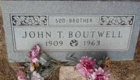 BOUTWELL, JOHN T. - Yavapai County, Arizona | JOHN T. BOUTWELL - Arizona Gravestone Photos