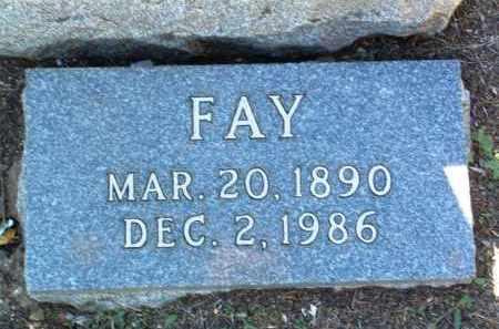 BOVILLE, FAY - Yavapai County, Arizona   FAY BOVILLE - Arizona Gravestone Photos
