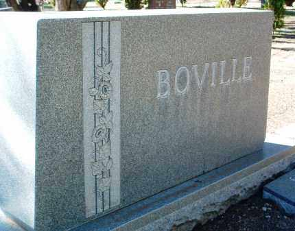 BOVILLE, FAMILY HEADSTONE - Yavapai County, Arizona | FAMILY HEADSTONE BOVILLE - Arizona Gravestone Photos