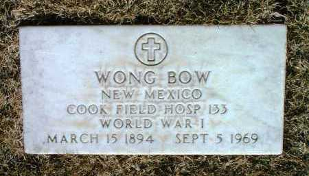 BOW, WONG - Yavapai County, Arizona | WONG BOW - Arizona Gravestone Photos
