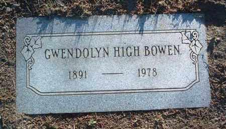 BOWEN, GWENDOLYN - Yavapai County, Arizona   GWENDOLYN BOWEN - Arizona Gravestone Photos