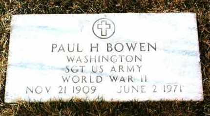 BOWEN, PAUL HOWARD - Yavapai County, Arizona | PAUL HOWARD BOWEN - Arizona Gravestone Photos