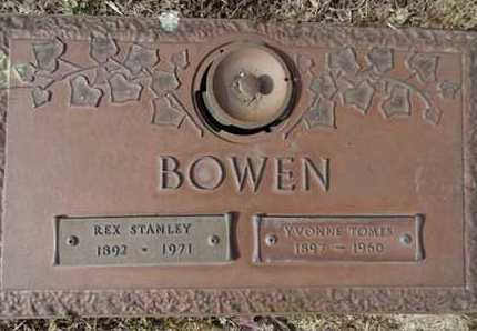 BOWEN, YVONNE - Yavapai County, Arizona | YVONNE BOWEN - Arizona Gravestone Photos