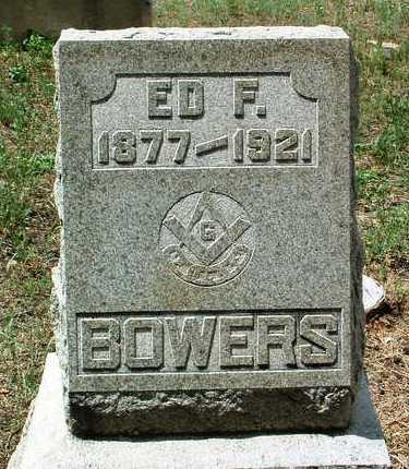 BOWERS, EDWARD FRANKLIN - Yavapai County, Arizona | EDWARD FRANKLIN BOWERS - Arizona Gravestone Photos