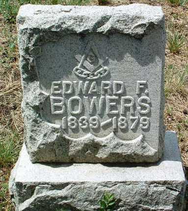 BOWERS, EDWARD FRANKLIN - Yavapai County, Arizona   EDWARD FRANKLIN BOWERS - Arizona Gravestone Photos
