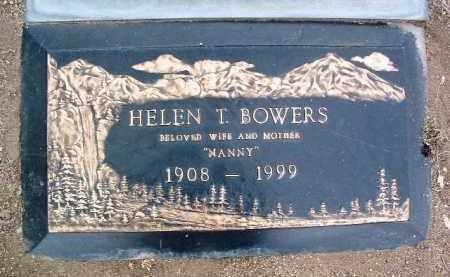 BOWERS, HELEN T. - Yavapai County, Arizona | HELEN T. BOWERS - Arizona Gravestone Photos