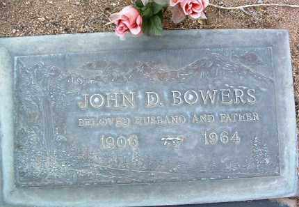 BOWERS, JOHN DEWITT - Yavapai County, Arizona   JOHN DEWITT BOWERS - Arizona Gravestone Photos