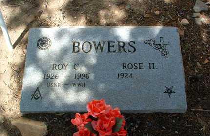 BOWERS, ROY C. - Yavapai County, Arizona | ROY C. BOWERS - Arizona Gravestone Photos