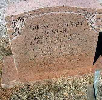 ASHCRAFT BOWLAN, F. - Yavapai County, Arizona | F. ASHCRAFT BOWLAN - Arizona Gravestone Photos