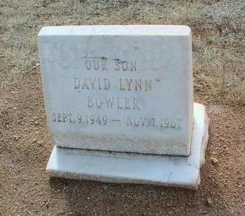 BOWLER, DAVID LYNN - Yavapai County, Arizona | DAVID LYNN BOWLER - Arizona Gravestone Photos