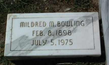 BOWLING, MILDRED MAY - Yavapai County, Arizona   MILDRED MAY BOWLING - Arizona Gravestone Photos