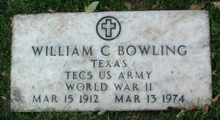 BOWLING, WILLIAM CLARENCE - Yavapai County, Arizona | WILLIAM CLARENCE BOWLING - Arizona Gravestone Photos