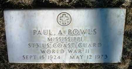 BOWLS, PAUL A. - Yavapai County, Arizona | PAUL A. BOWLS - Arizona Gravestone Photos