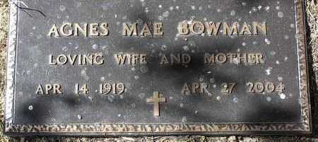 BOWMAN, AGNES MAE - Yavapai County, Arizona   AGNES MAE BOWMAN - Arizona Gravestone Photos