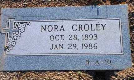 BOWMAN CROLEY, NORA - Yavapai County, Arizona | NORA BOWMAN CROLEY - Arizona Gravestone Photos