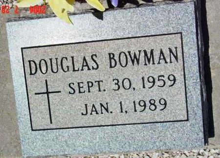 BOWMAN, DOUGLAS WALTER - Yavapai County, Arizona | DOUGLAS WALTER BOWMAN - Arizona Gravestone Photos