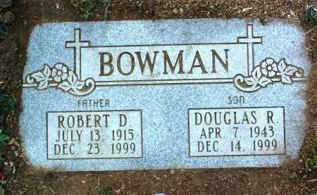 BOWMAN, ROBERT DOUGLAS - Yavapai County, Arizona | ROBERT DOUGLAS BOWMAN - Arizona Gravestone Photos
