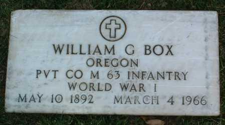 BOX, WILLIAM G. - Yavapai County, Arizona | WILLIAM G. BOX - Arizona Gravestone Photos
