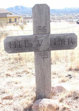 BOYER, ELLIS VICTOR - Yavapai County, Arizona   ELLIS VICTOR BOYER - Arizona Gravestone Photos