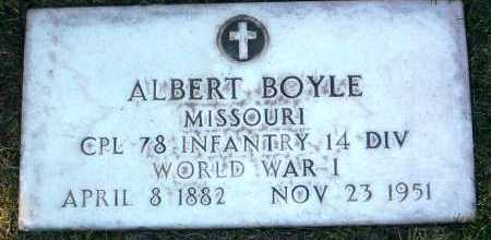 BOYLE, ALBERT - Yavapai County, Arizona | ALBERT BOYLE - Arizona Gravestone Photos