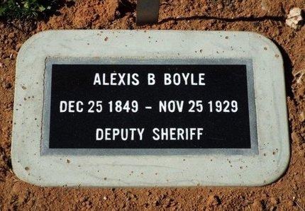 BOYLE, ALEXIS B. (ALEX) - Yavapai County, Arizona | ALEXIS B. (ALEX) BOYLE - Arizona Gravestone Photos
