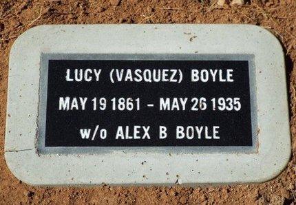 VASQUEZ SMITH, LUCY - Yavapai County, Arizona | LUCY VASQUEZ SMITH - Arizona Gravestone Photos