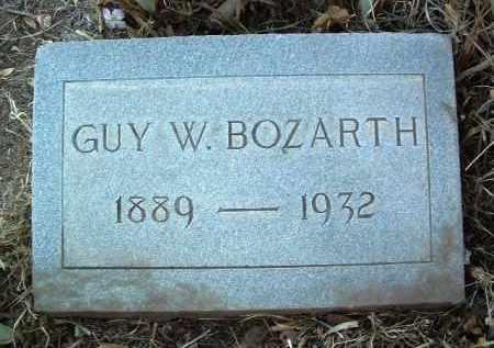 BOZARTH, GUY WESLEY - Yavapai County, Arizona | GUY WESLEY BOZARTH - Arizona Gravestone Photos