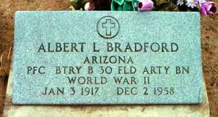 BRADFORD, ALBERT LOGAN - Yavapai County, Arizona | ALBERT LOGAN BRADFORD - Arizona Gravestone Photos