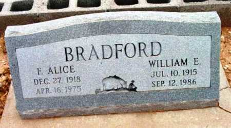 BRADFORD, FRANCES ALICE - Yavapai County, Arizona | FRANCES ALICE BRADFORD - Arizona Gravestone Photos