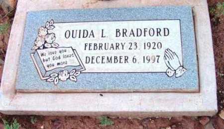 BRADFORD, QUIDA L. - Yavapai County, Arizona   QUIDA L. BRADFORD - Arizona Gravestone Photos