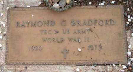 BRADFORD, RAYMOND C. - Yavapai County, Arizona | RAYMOND C. BRADFORD - Arizona Gravestone Photos