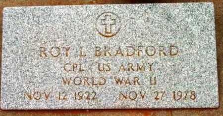 BRADFORD, ROY LOUIS - Yavapai County, Arizona | ROY LOUIS BRADFORD - Arizona Gravestone Photos