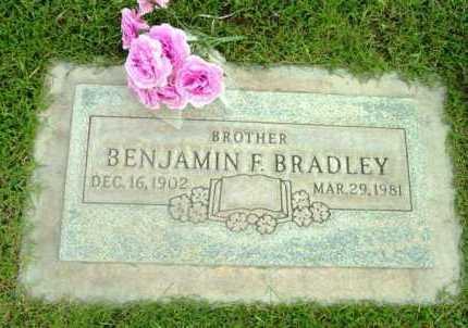 BRADLEY, BENJAMIN F. - Yavapai County, Arizona | BENJAMIN F. BRADLEY - Arizona Gravestone Photos