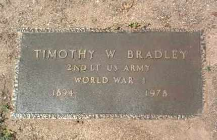 BRADLEY, TIMOTHY WHITELAW - Yavapai County, Arizona | TIMOTHY WHITELAW BRADLEY - Arizona Gravestone Photos