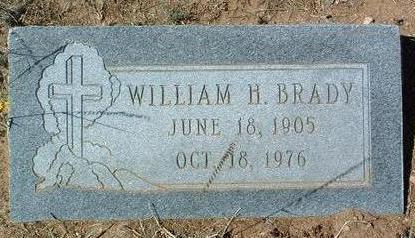 BRADY, WILLIAM H. - Yavapai County, Arizona | WILLIAM H. BRADY - Arizona Gravestone Photos