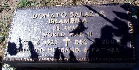 BRAMBIA, DONATO SALAZAR - Yavapai County, Arizona | DONATO SALAZAR BRAMBIA - Arizona Gravestone Photos