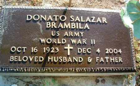 BRAMBILA, DONATO SALAZAR - Yavapai County, Arizona   DONATO SALAZAR BRAMBILA - Arizona Gravestone Photos